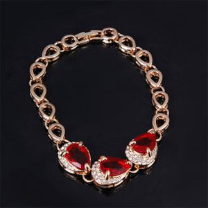 Fashion Women Jewelry Sets Bride Wedding Party Chain Necklace Earring -