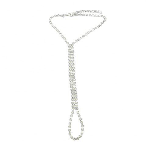 Fashion Silver Color Long Chain Anklets