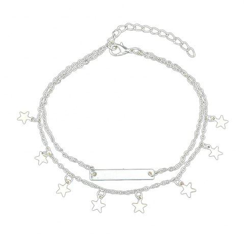 Shops Summer Star Charm Anklets Beach Barefoot Sandals
