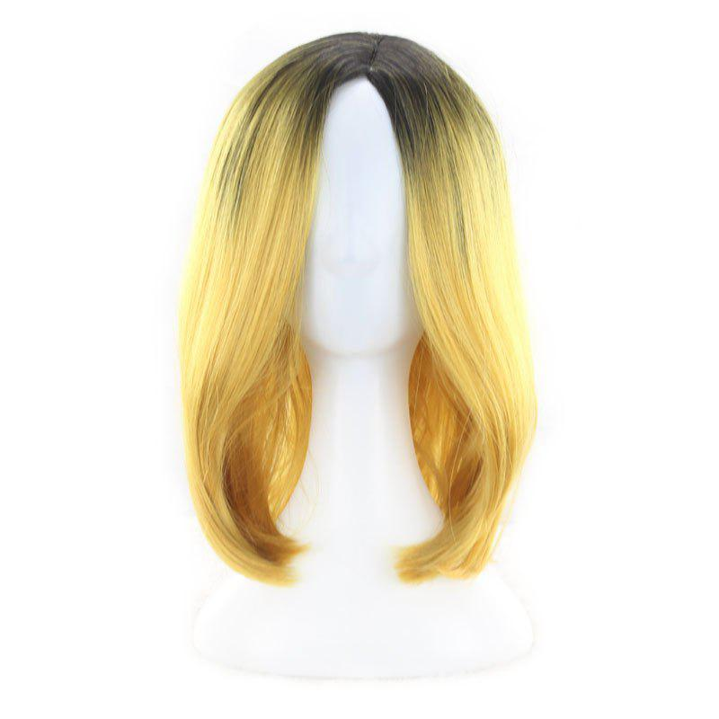 Outfits Short Straight Bobo Head High Temperature Silk Dyed Wig Simulation Scalp