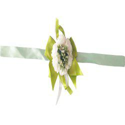 New Rose Babysbreath Emulational Wrist Flower Decoration -