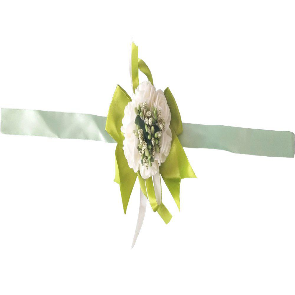 Hot New Rose Babysbreath Emulational Wrist Flower Decoration