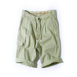 Summer Men's Belt Fashion Shorts -