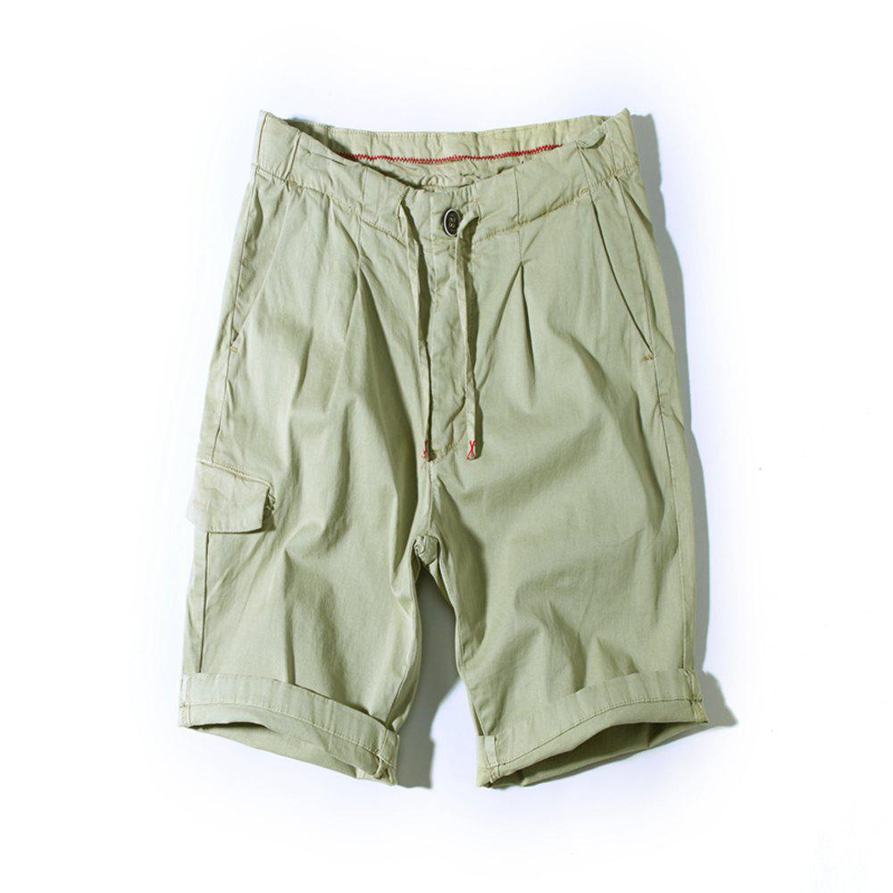 Fashion Summer Men's Belt Fashion Shorts