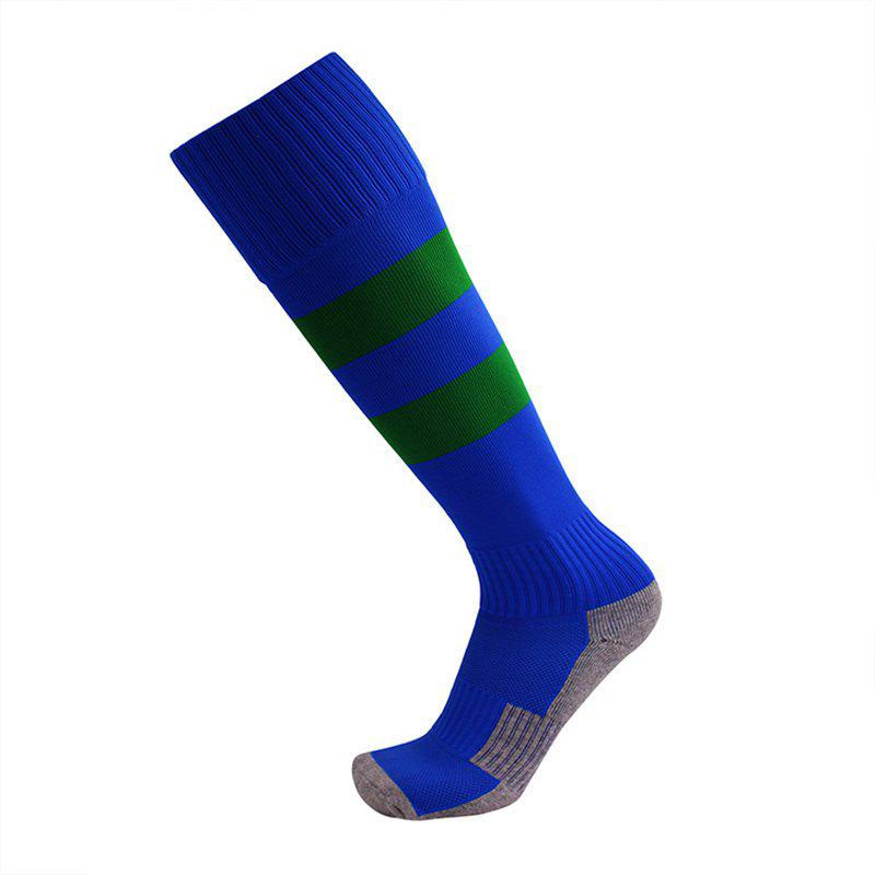 Fashion Adult Children Small Size Football Anti-Skid Sports Socks