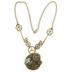New Tianma Gear Mechanical Accessories Steampunk Necklaces -