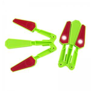 Finger Tip Flipping Butterfly Knife with Light Acrobatic Stress Relieve Toy -