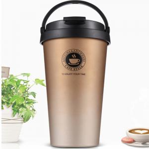 Creative Portable 304 Stainless Steel Coffee Cup for Men and Women -
