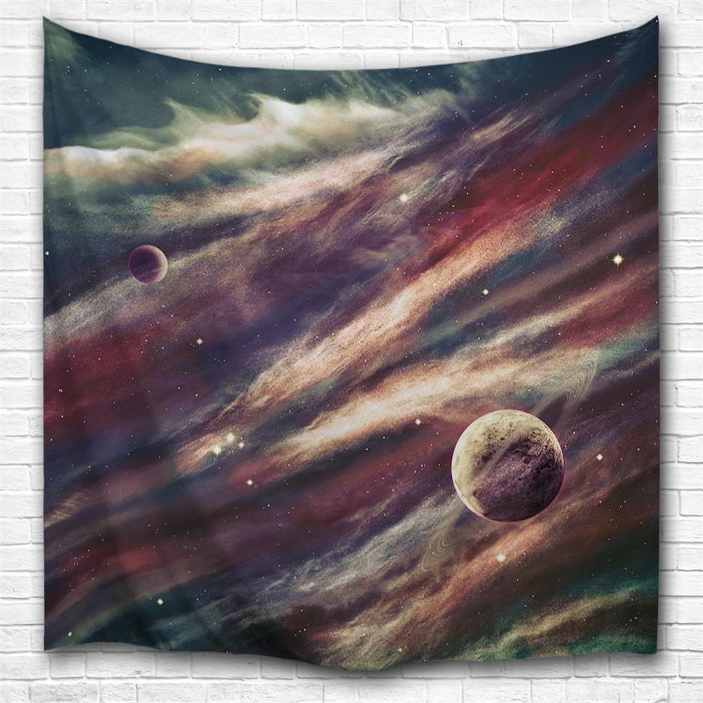 Best Space Planet 3D Printing Home Wall Hanging Tapestry for Decoration