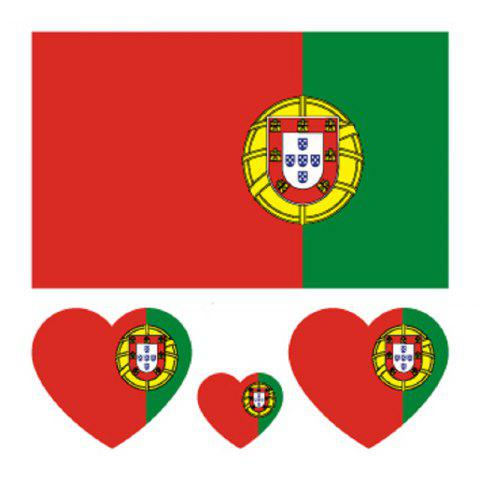 Cheap Portugal Flag Football Body Tattoo Stickers