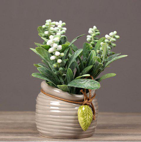 Trendy Pearl Grass Artificial Plant Potted