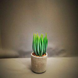 Artificial Succulents Green Potted Plant -