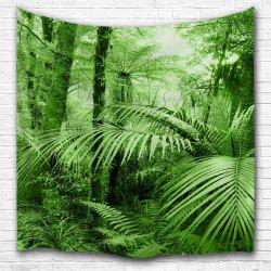 Tropical Forest 3D Printing Home Wall Hanging Tapestry for Decoration -