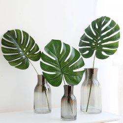 3PCS Leaf Fresh Style Home Office Artificial Plant Decor -