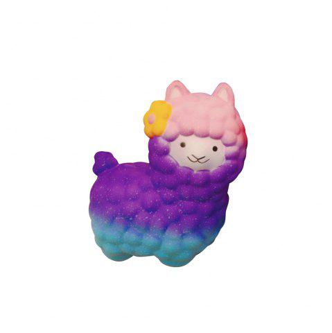 Affordable Vlampo Squishy Alpaca 17 x 13 x 8cm Slow Rising Original Packaging Collection Gift Decor Toy