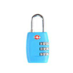 TSA Resettable 3 Digit Combination Lock Travel Luggage Suitcase Code Padlock -