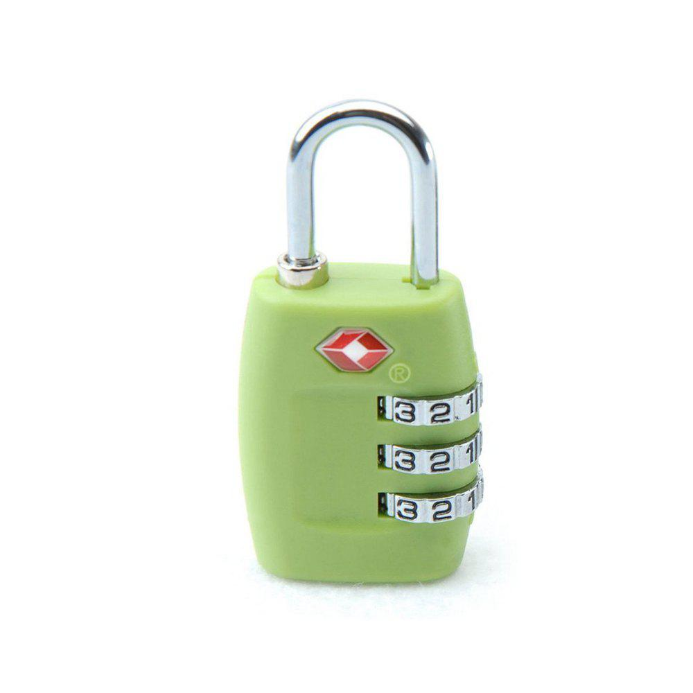 Latest TSA Resettable 3 Digit Combination Lock Travel Luggage Suitcase Code Padlock