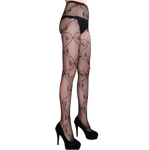 Buy Women Plus Size Cutout Net Tights Wire Small Mesh Lace Pantyhose Stockings