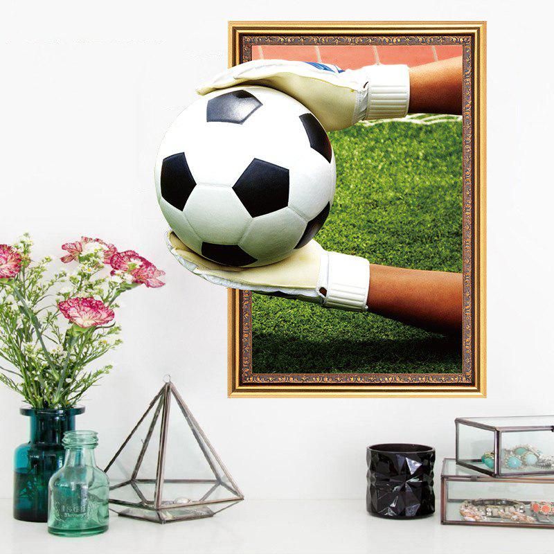 Autocollant Football Dimpression Gardien De 3d But Mur FK1c3TlJ