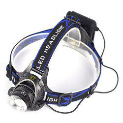 Cree XM - L T6 1000lm 3 - Mode AA Battery LED Headlamp -