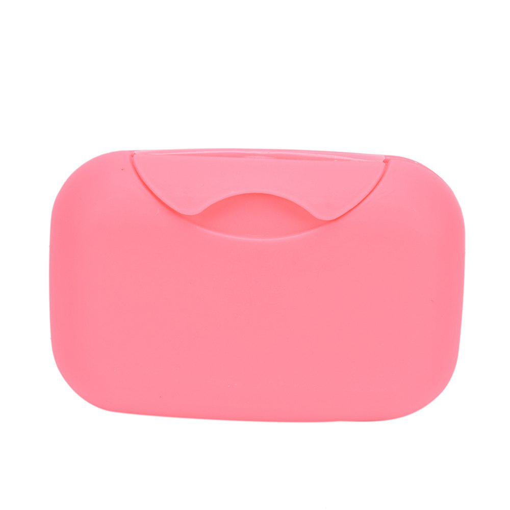 Affordable Houseware Plastic Mini Soap Dish Box Holder