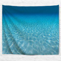 Ocean Water Cube 3D Printing Home Wall Hanging Tapestry for Decoration -