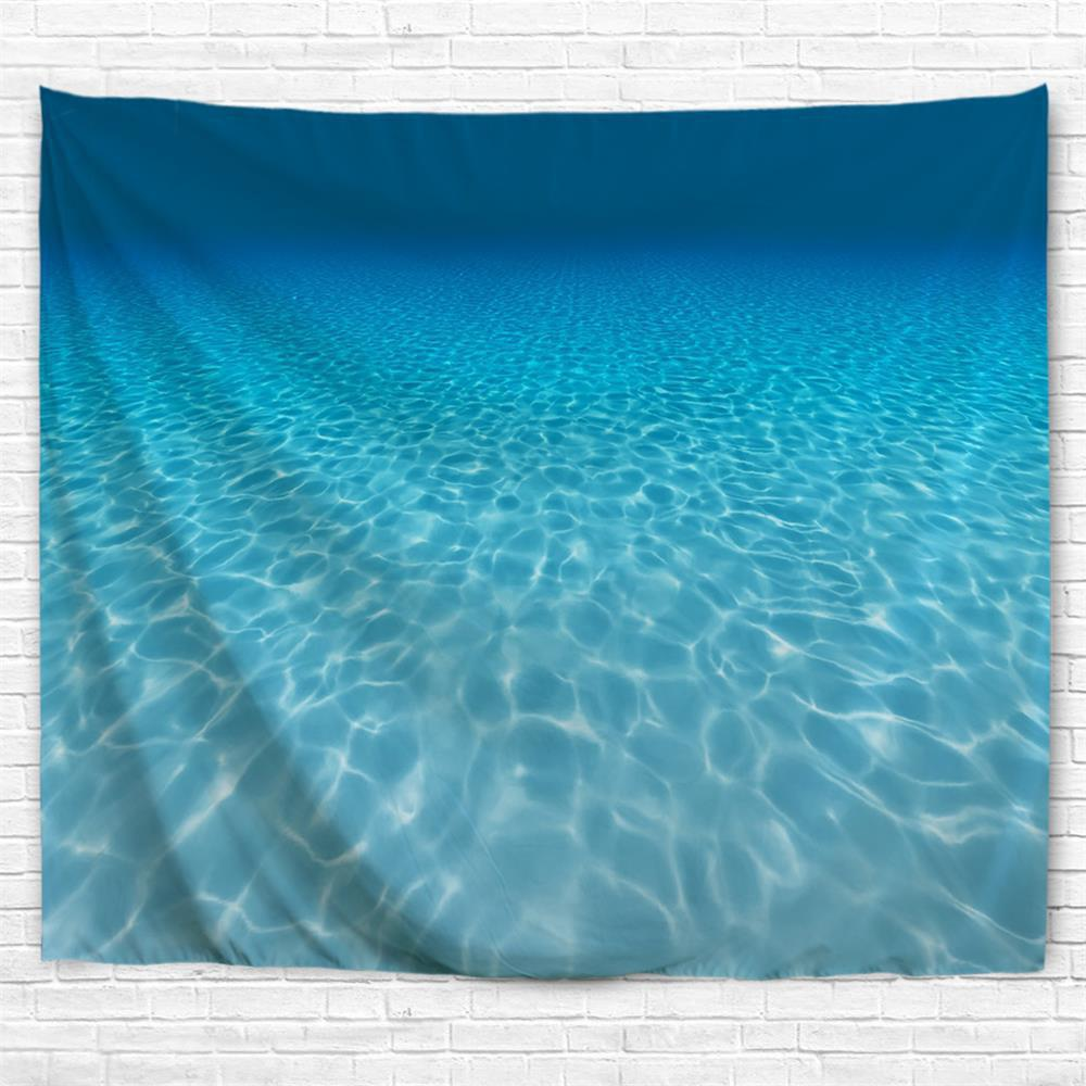 Fancy Ocean Water Cube 3D Printing Home Wall Hanging Tapestry for Decoration