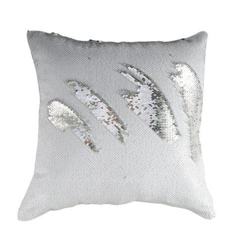 Shops Two-tone Sequined Mermaid Pillowcase