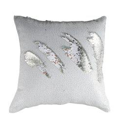 Two-tone Sequined Mermaid Pillowcase -