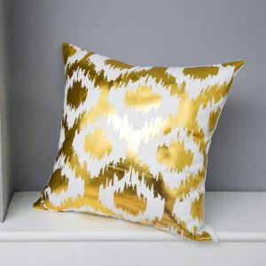 Flannel Stamping Pillow Love Pineapple Leaves Alphabet Cushion Cover -