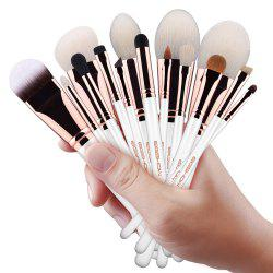EIGSHOW 15PCS Makeup Set Classic Costemic Brush Kit Rose Gold -
