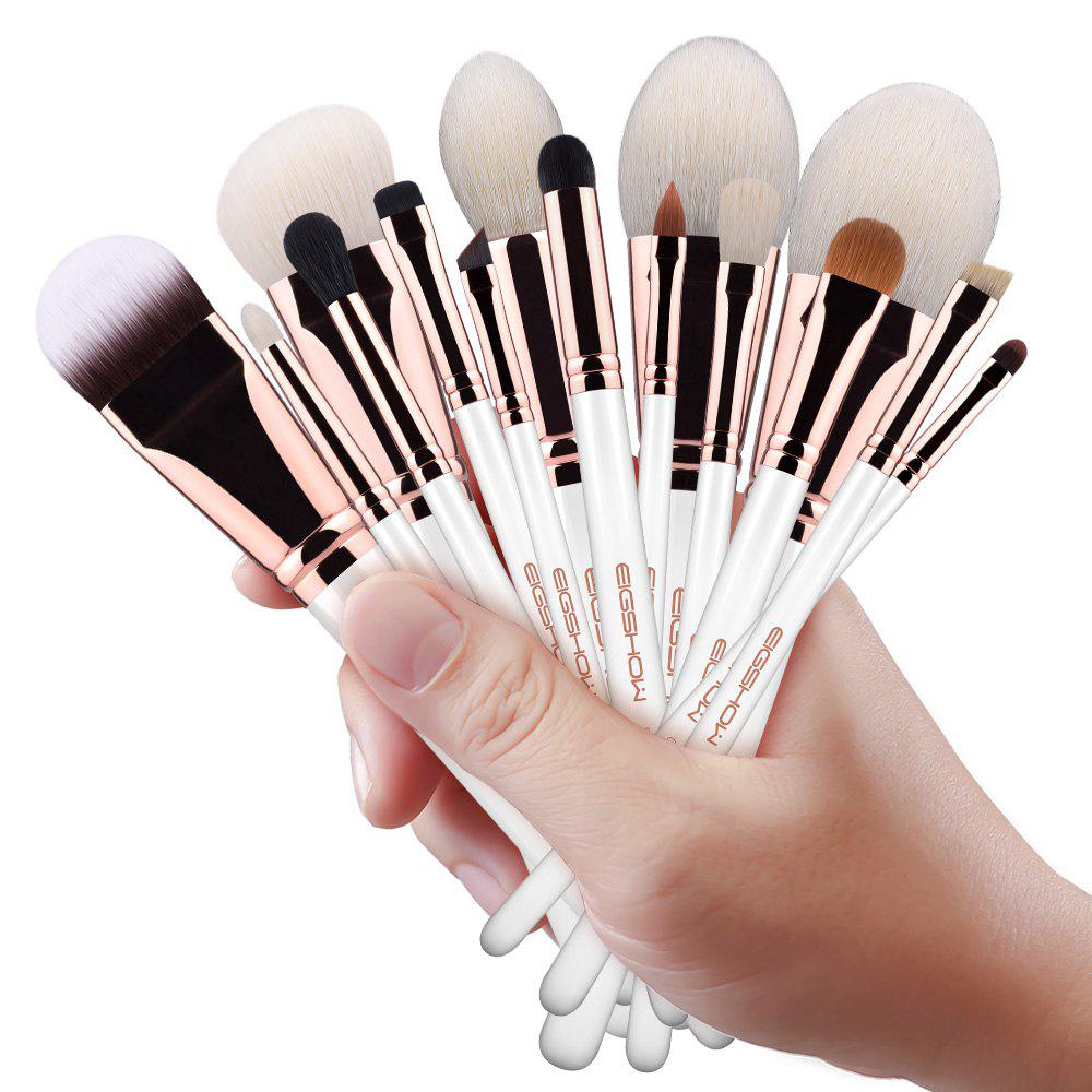 Online EIGSHOW 15PCS Makeup Set Classic Costemic Brush Kit Rose Gold