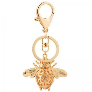 Creative Bee Car Key Chain Ladies Bag Ornaments Small Gift Pendant -