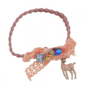 Elastic Rope With Flower Shape Hairwear -