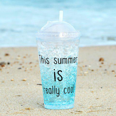 Hot Summer Cola Shake Cup Healthy Seal Letter Plastic Cup