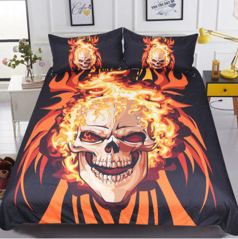 Discount Angry Style  Bedding Duvet Cover Set Digital Print 3pcs