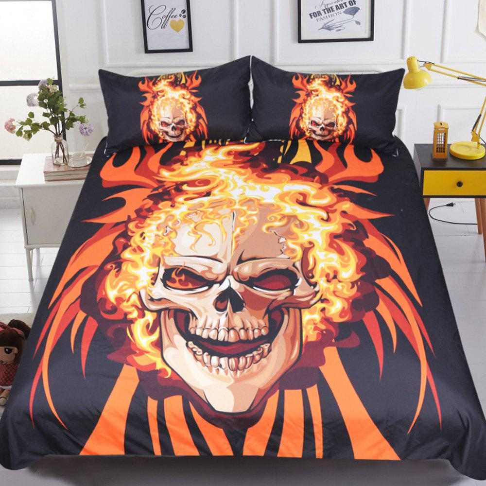 Sale Angry Style  Bedding Duvet Cover Set Digital Print 3pcs