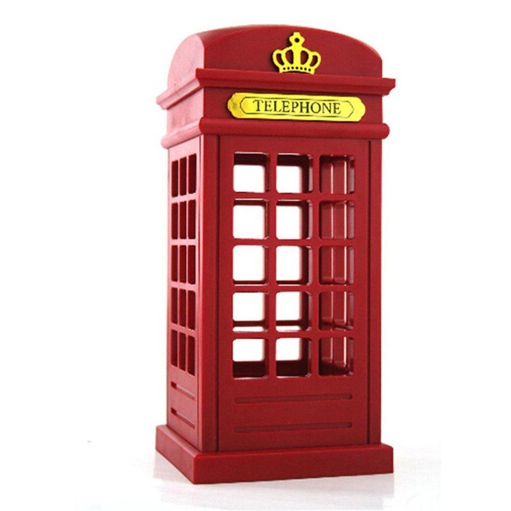 Online Lodon Telephone Booth LED Table Lamp Night Light