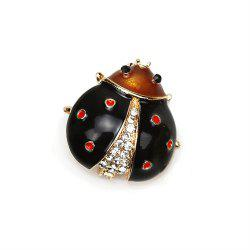 PULATU Cute Scarab Brooches Women Badges for Clothing Party Supplies -