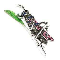 PULATU Women's Crystal Diamond Acrida Brooch -