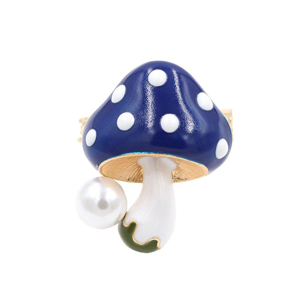 New PULATU Enameled Mushroom Brooch for Women