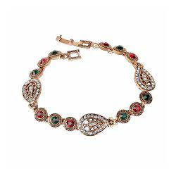 PULATU Crystal Diamond National Wind Bracelet -