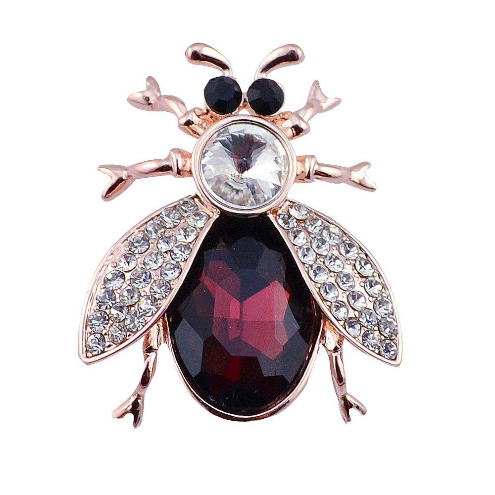 Outfit PULATU Crystal Insect Brooch