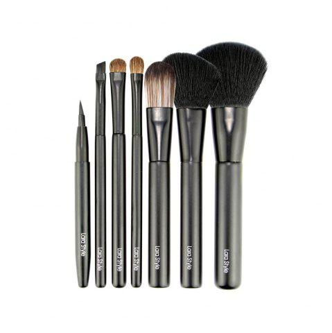 Discount 7pcs Make Up Brushes with Iron Cute Box ( Limited Edition )