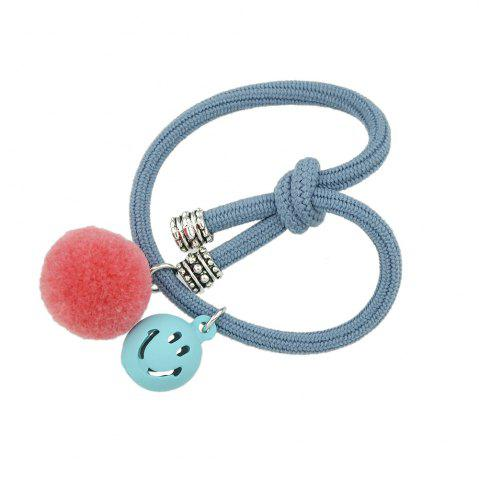 Hot Candy Color Rope Smile Face Headbands