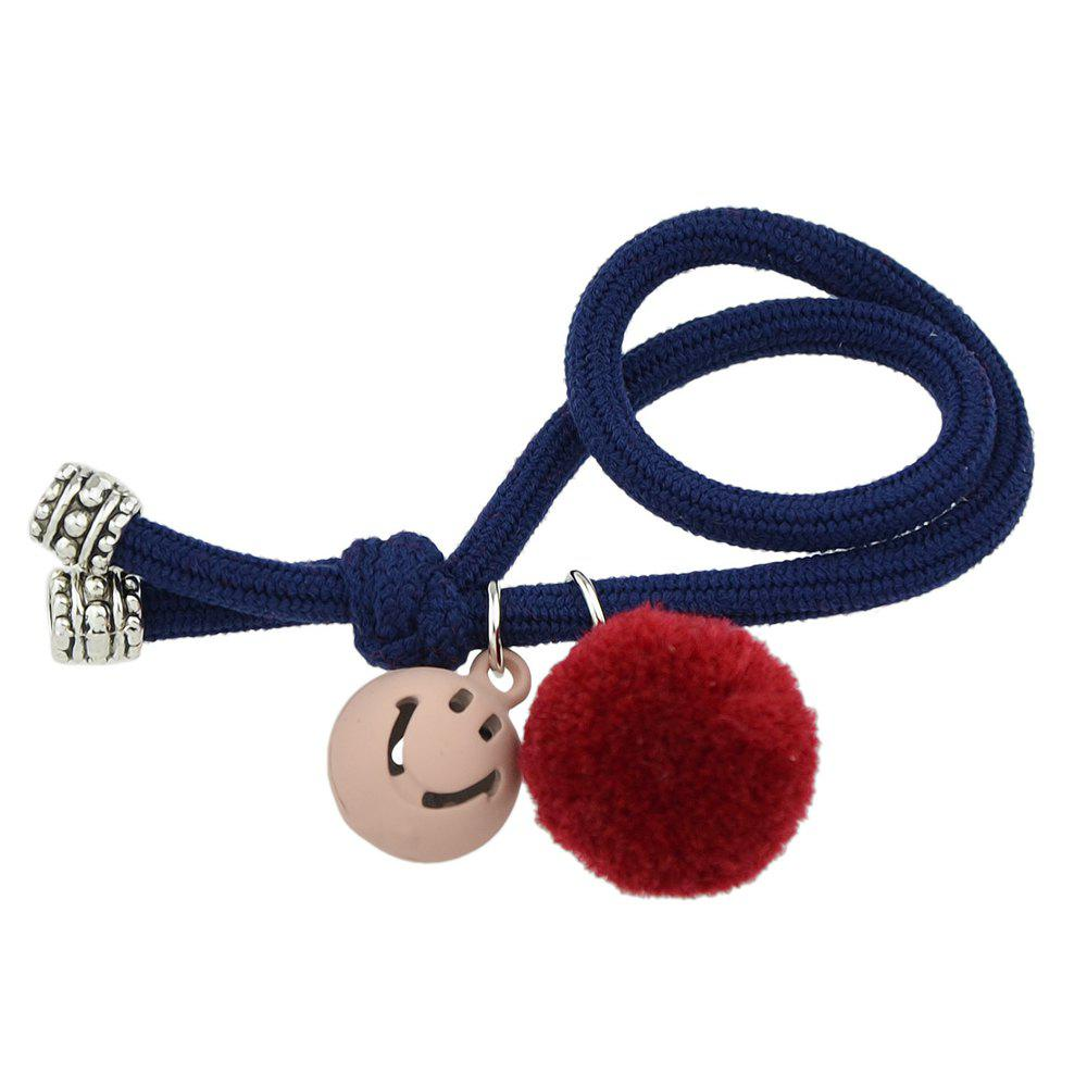 Outfit Candy Color Rope Smile Face Headbands
