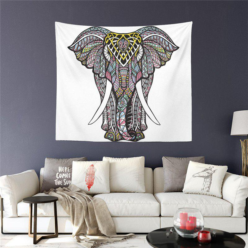 noir s s rie de style exotique totem elephant god decoration wall tapisserie gt 9. Black Bedroom Furniture Sets. Home Design Ideas