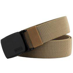 ENNIU Adjustable Multi-function Tactical Military Elastic Black Alloy Clasp Belt -
