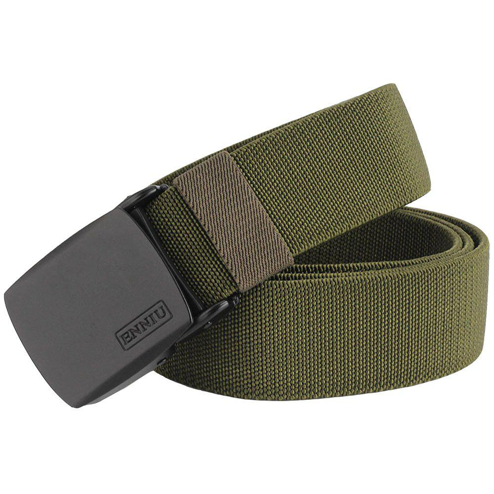 Best ENNIU Adjustable Multi-function Tactical Military Elastic Black Alloy Clasp Belt