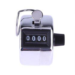 Mini Mechanical Metal Manual 4-DIGIT Counter -